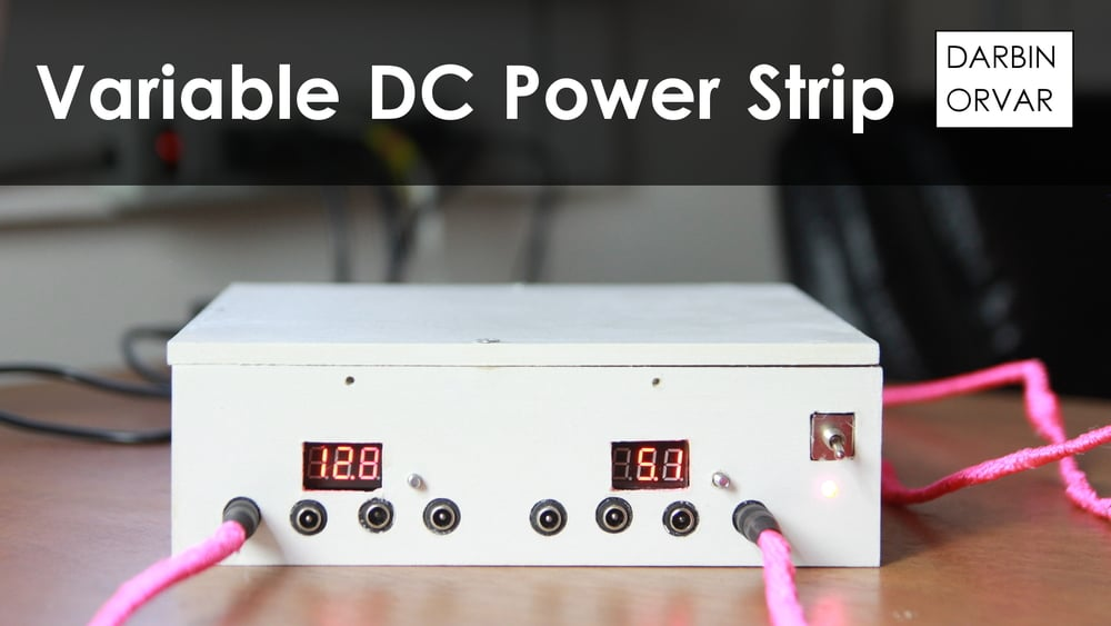 Make a Power Strip to Charge your Phone and Desktop Electronics