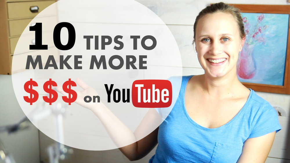 10 Tips I have learned and put into practice with my own online store to help support my youtube channel.