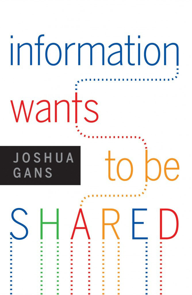 Information Wants to be Shared - published by Harvard Business Review Press in 2012, takes a fresh examination of the economics of information selling in the digital age.