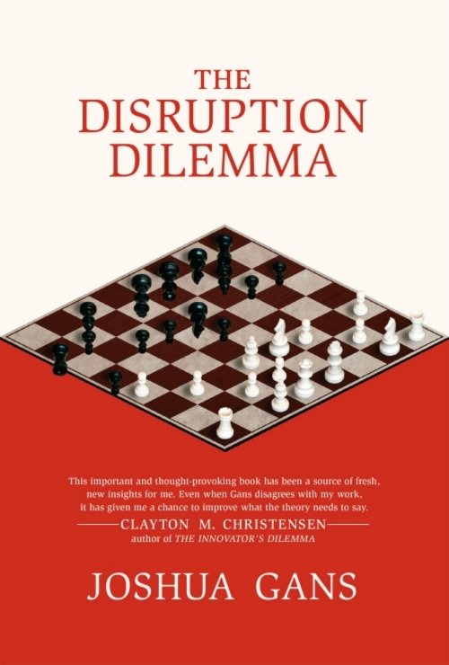 The Disruption Dilemma - Published in 2016 by MIT Press, this book takes the theory of disruption and examines the full record on its effects. It builds a novel synthesis on management theories on successful firm failure with new recommendations for business.