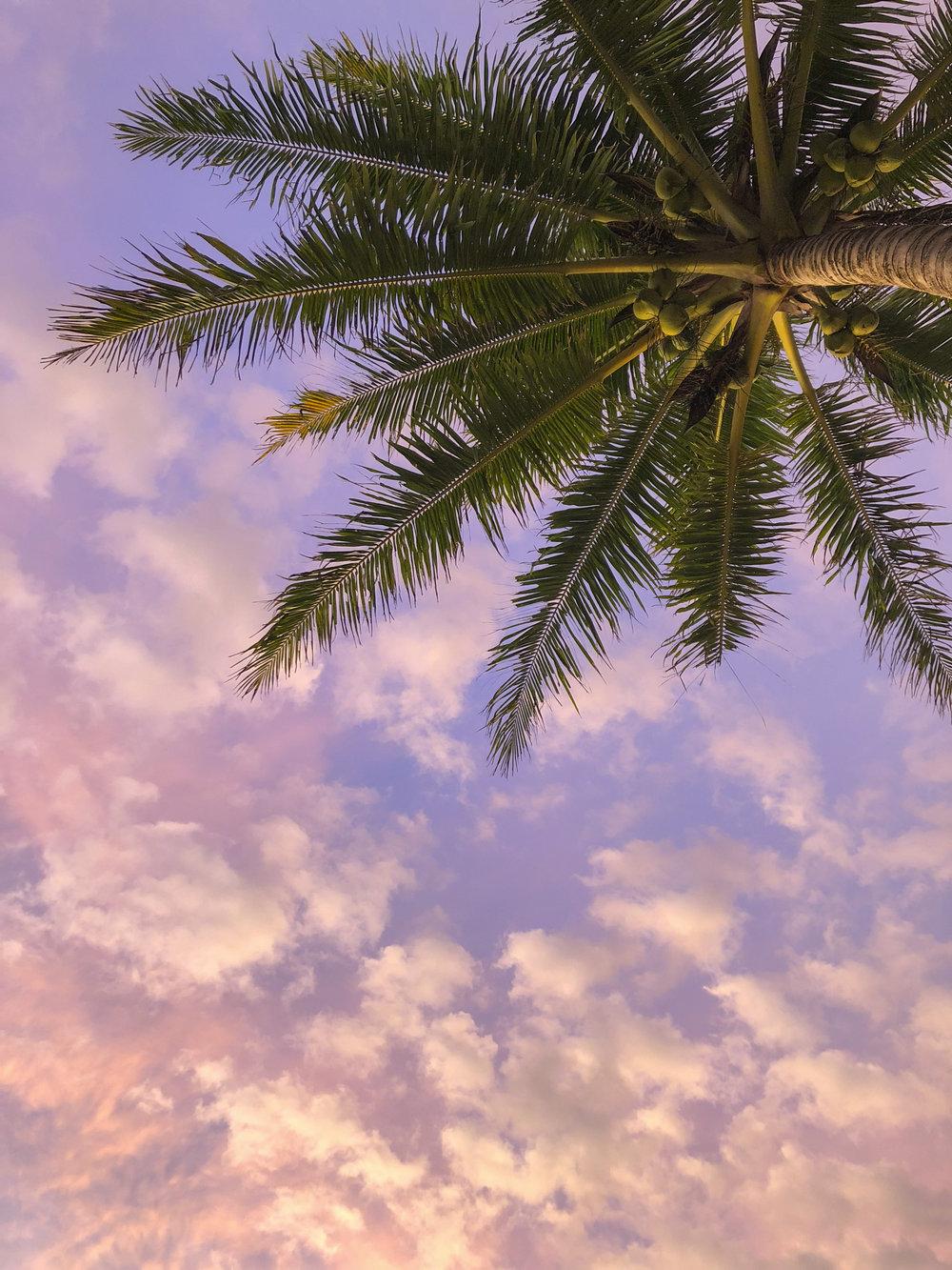 Sumatra sun set