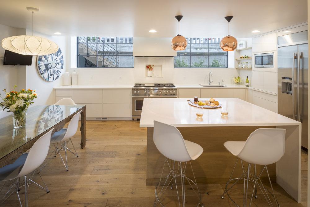 Heiser kitchen . Giuletti Schouten - Rainier