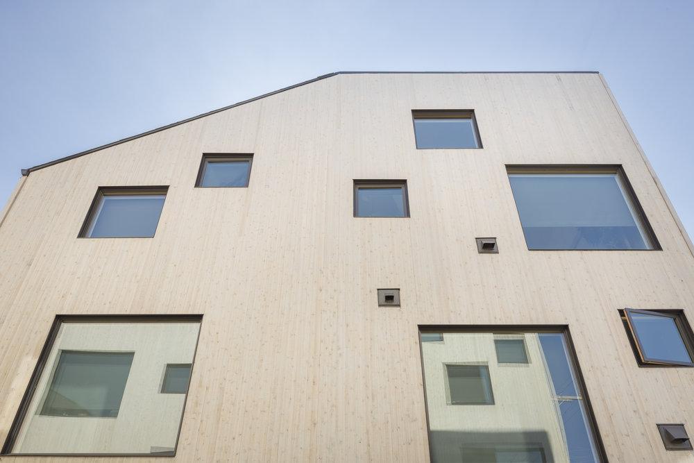 Greeley facade . WPA