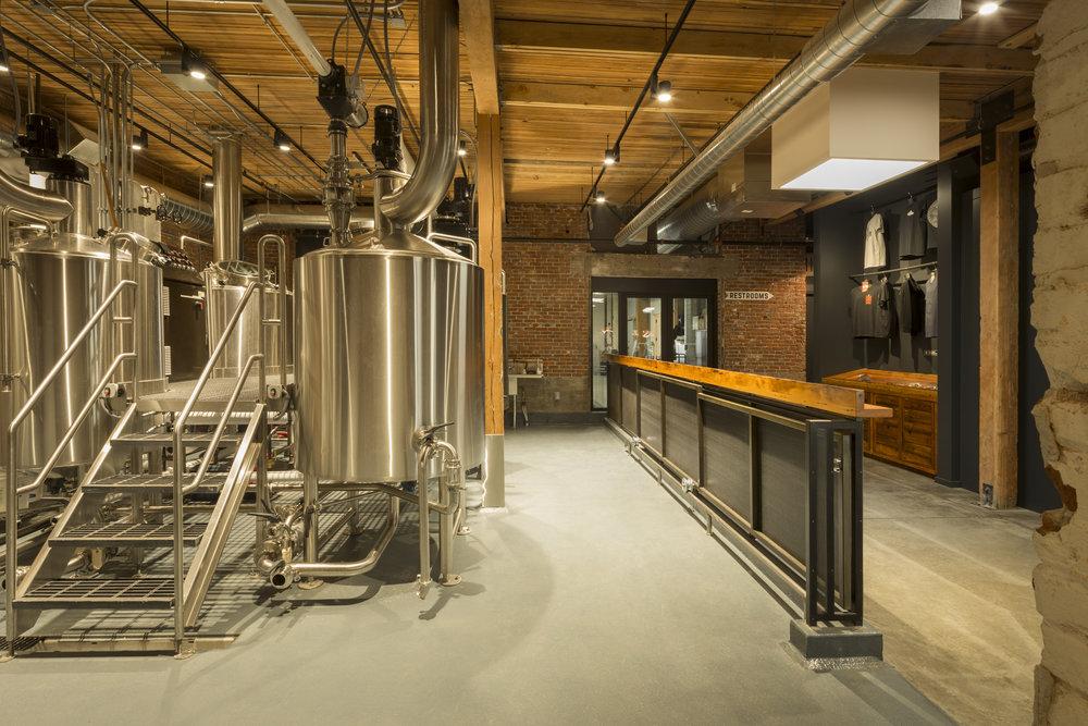 Wayfinder brewery . WPA