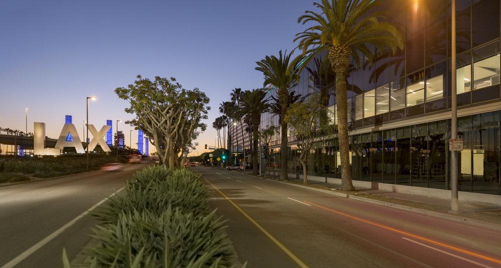 LAX Century BLVD exterior . WPA