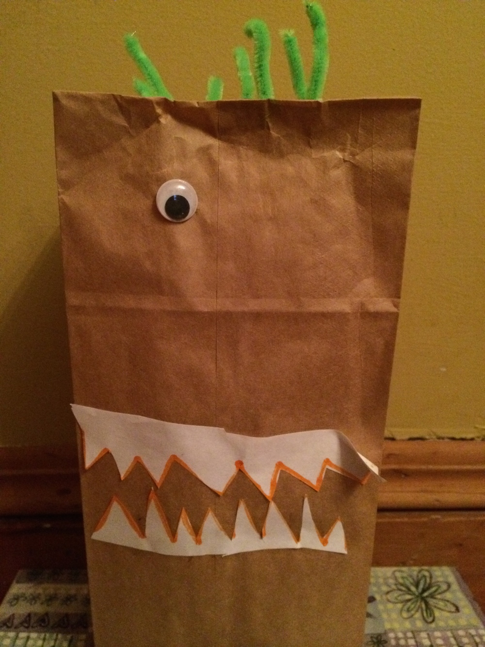 Pinterest in Real Life Paper Bag Monsters 3 from Encourage Play