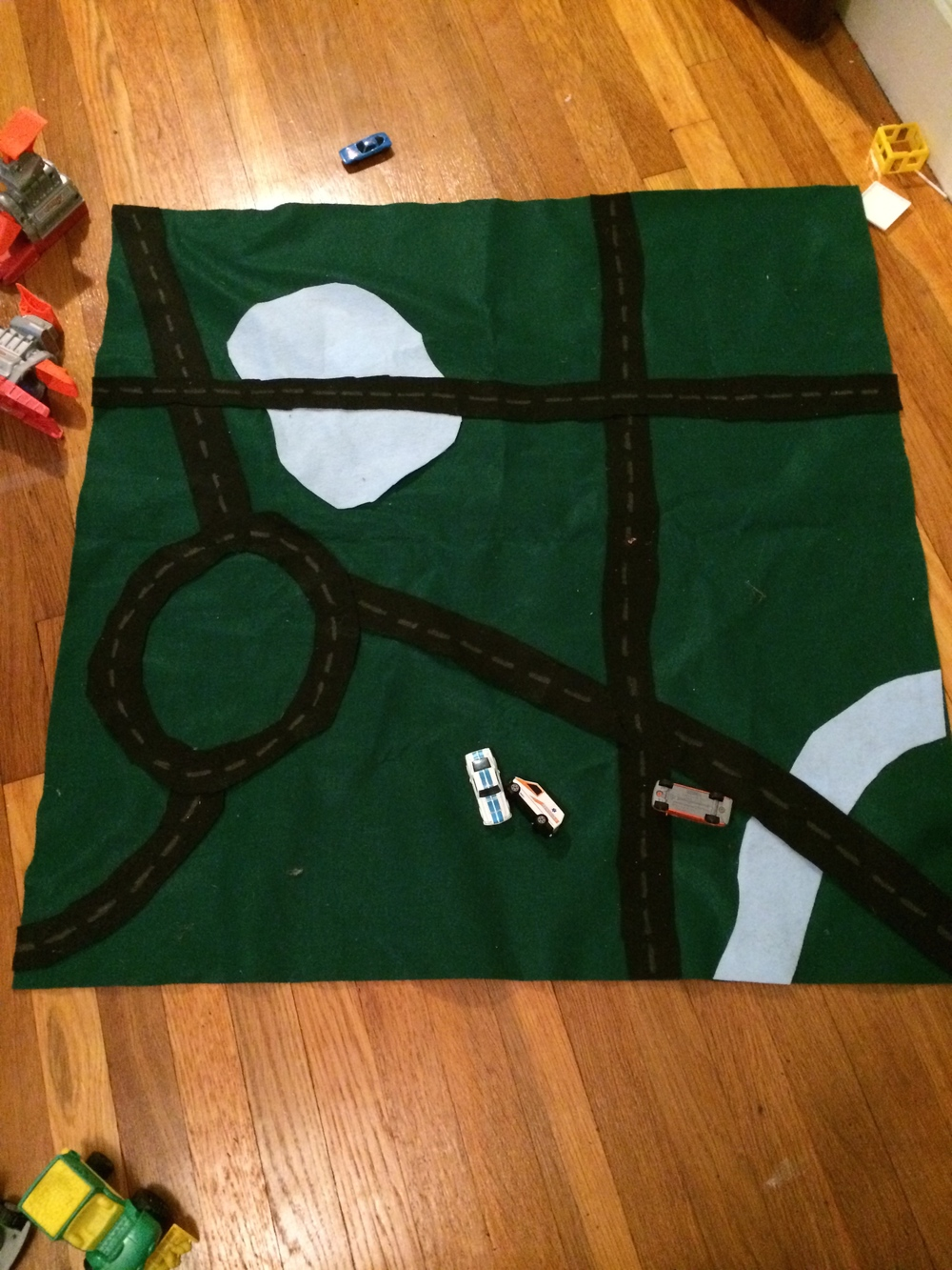 DIY car mat - Pinterest in Real Life by Encourage Play