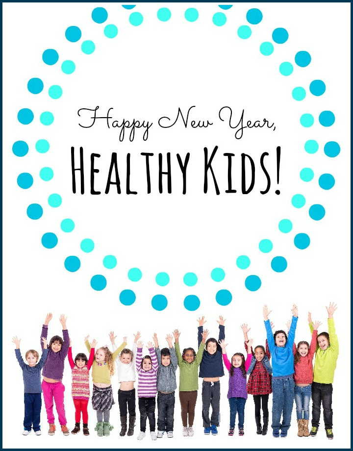 Happy New Year Healthy Kids