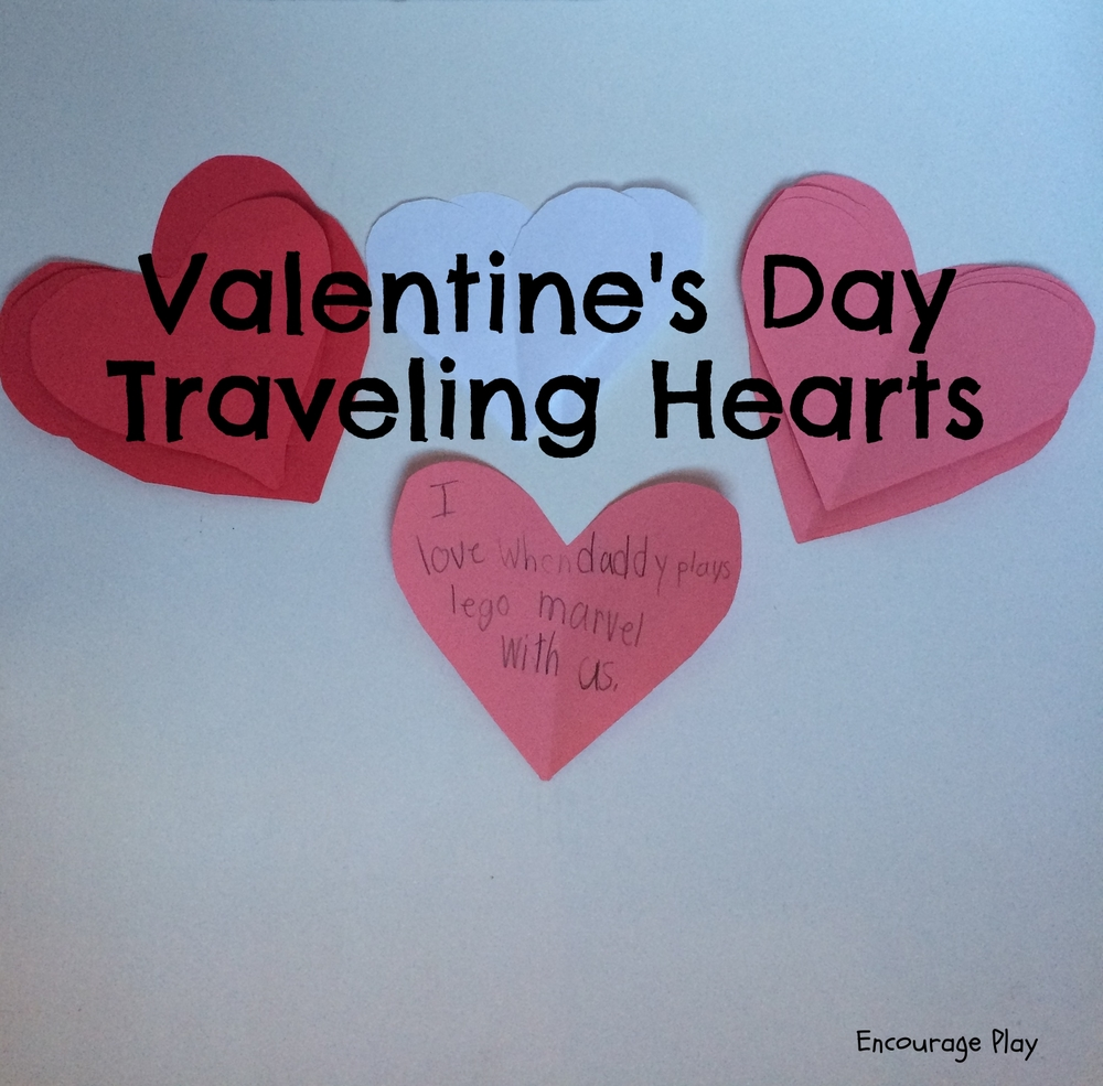 Valentine's Day Activity: Traveling Hearts