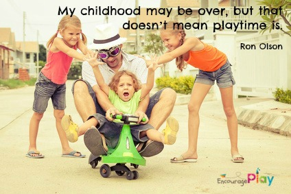 Ron Olson quotes by Encourage Play