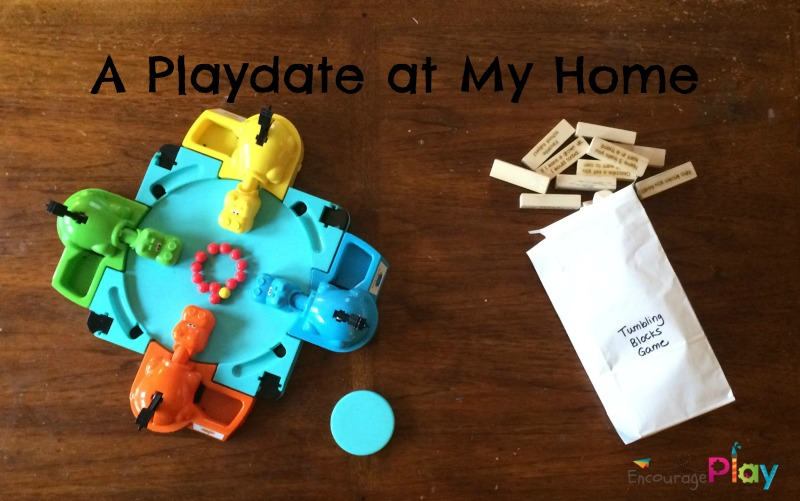 A Playdate at My House by Encourage Play