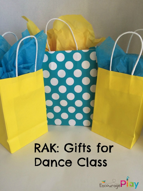 RAK Gifts for Dance Class from Encourage Play