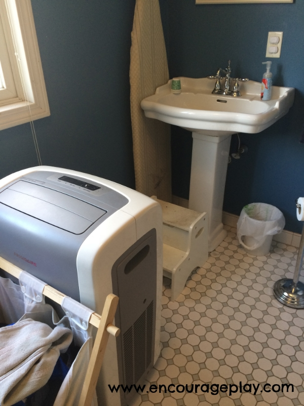 A tour of my home: downstairs bathroom by Encourage Play