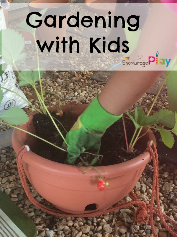Gardening with Kids from Encourage Play