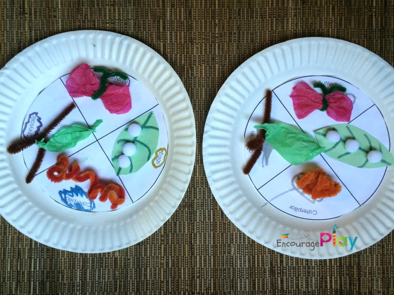 Encourage Play's version of Buddy and Buddy's craft