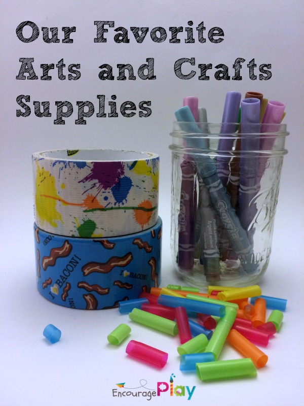Our Favorite Arts and Crafts Supplies from Encourage Play