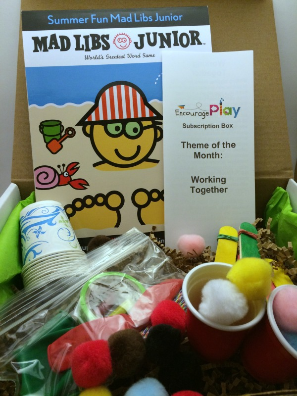 A Peek Inside our June Subscription Box from Encourage Play