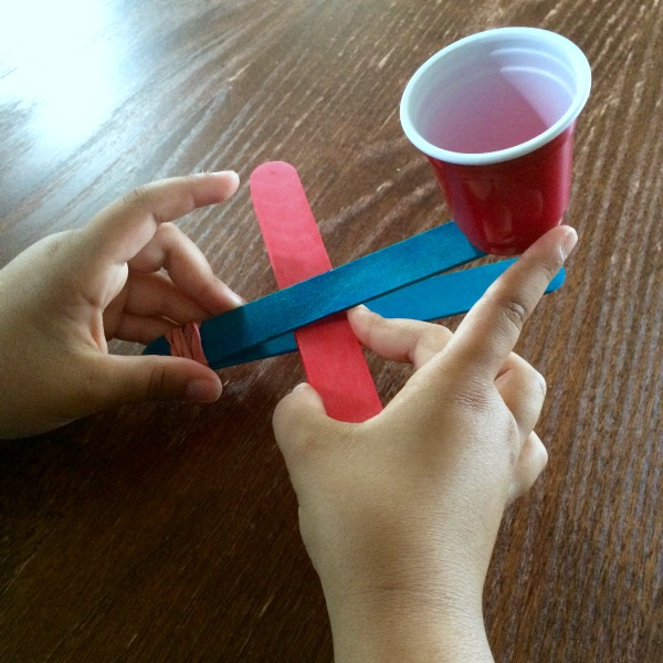 Putting Together Catapult from Encourage Play