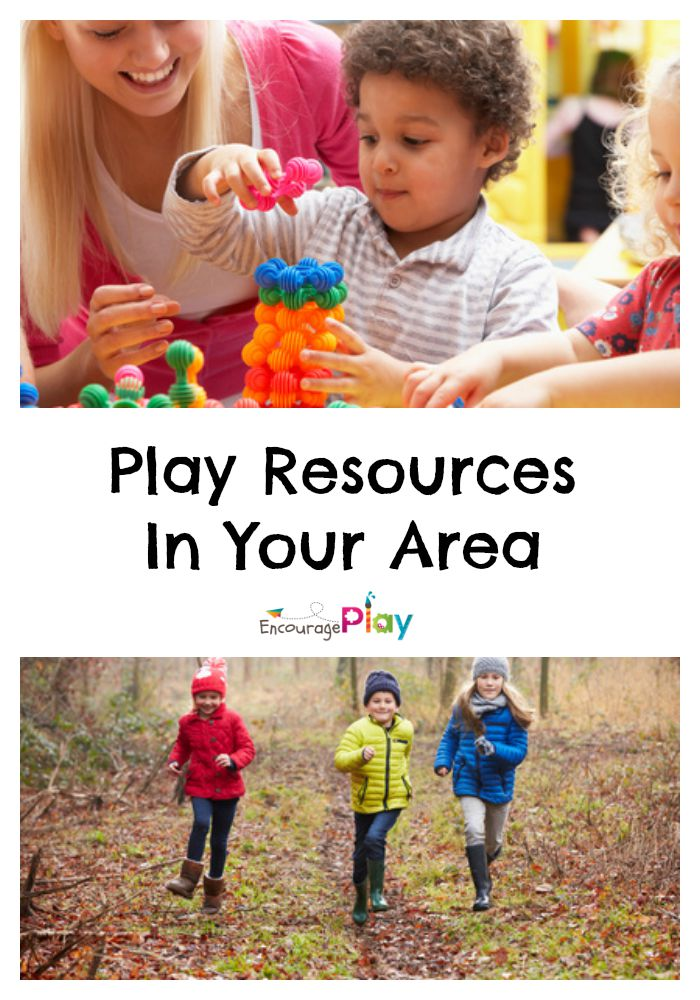 Play Resources in Your Area from Encourage Play
