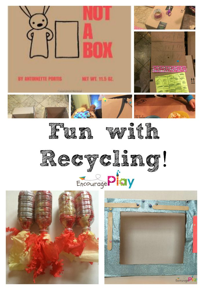 Fun Activities with Recycled Materials Encourage Play