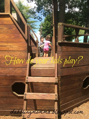How do your kids play Dabbling Momma Play Matters Blog Hop