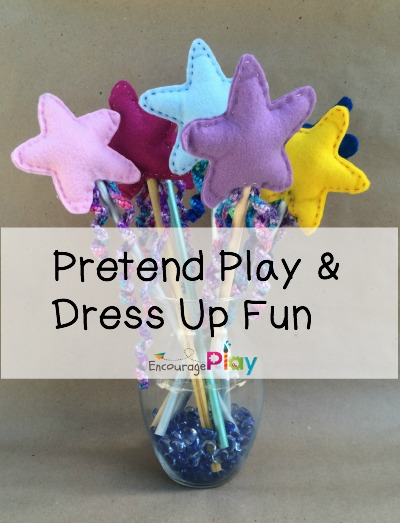 Pretend Play Dress Up Fun Encourage Play
