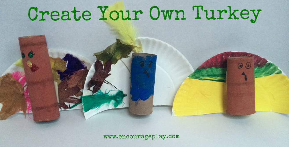 Invitation to Create Turkeys by Encourage Play