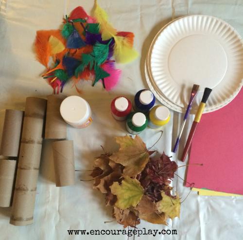 Invitation to create turkey 1 Encourage Play