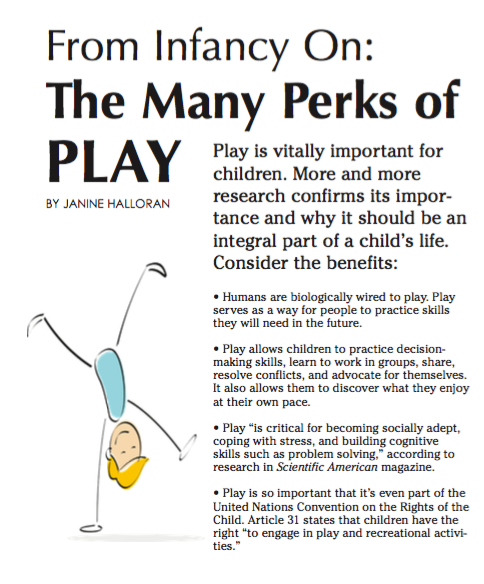 The Many Perks of Play Bay State Parent Janine Halloran