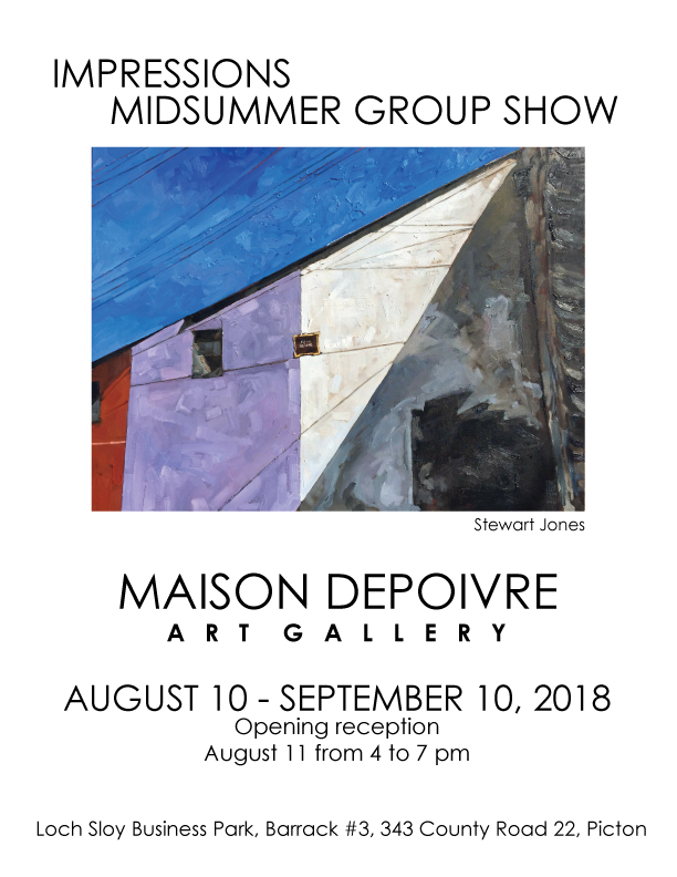 OPENING RECEPTION SATURDAY AUGUST 11 4-7PM