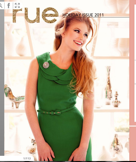 Rue Magazine: Holiday Issue 2011