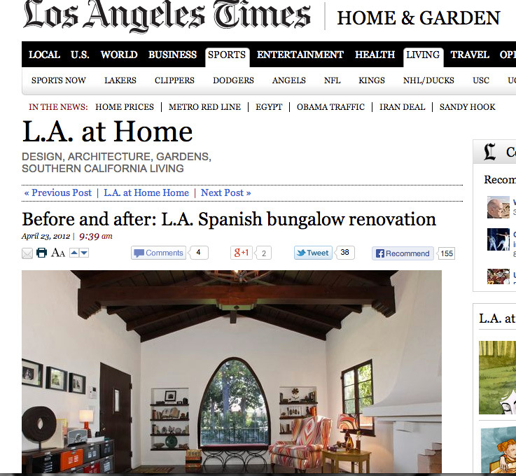 Los Angeles Times: Home + Garden