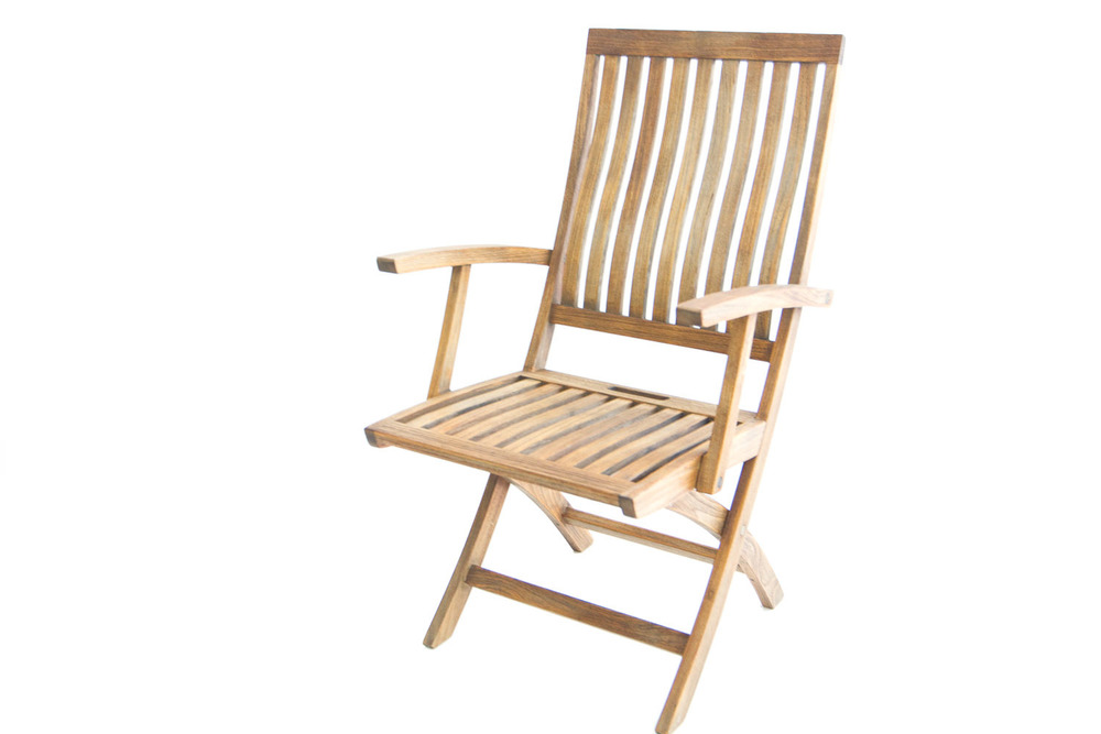 (C-007) GLOSTER TEAK CHAIRS