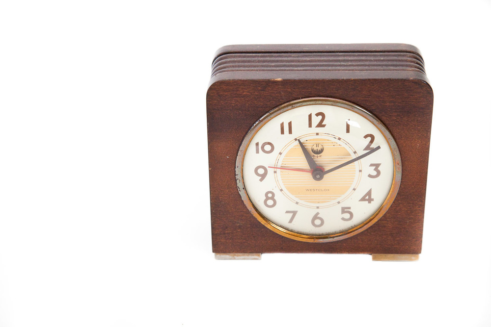 (PS-024) WESTCLOX CLOCK