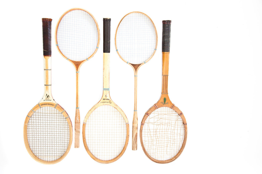 (PS-033) ANTIQUATED RACKETS