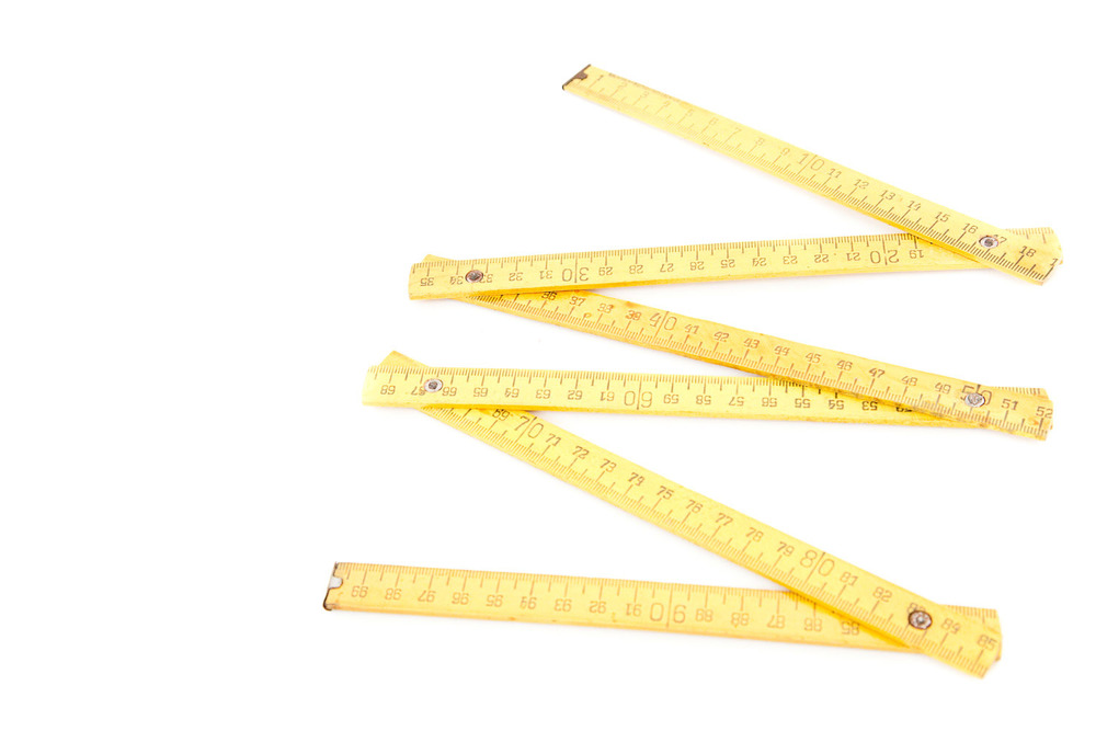 (PS-062) ANTIQUE YELLOW RULER