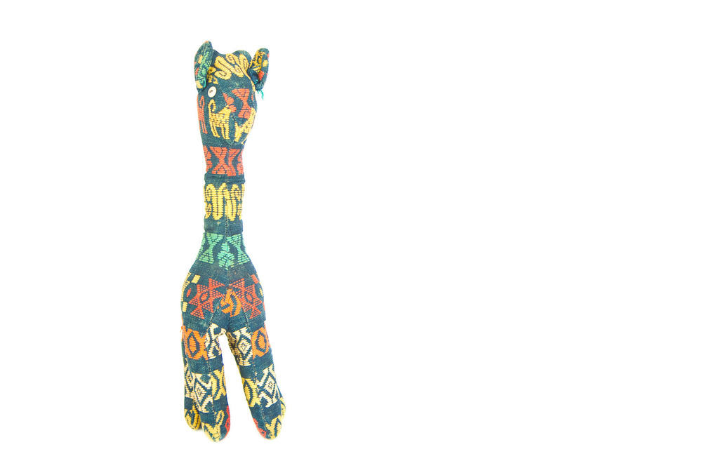 (PS-126) AFRICAN STUFFED GIRAFFE