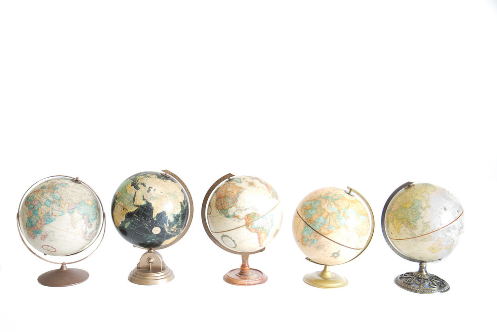 (PS-135) VINTAGE GLOBE COLLECTION