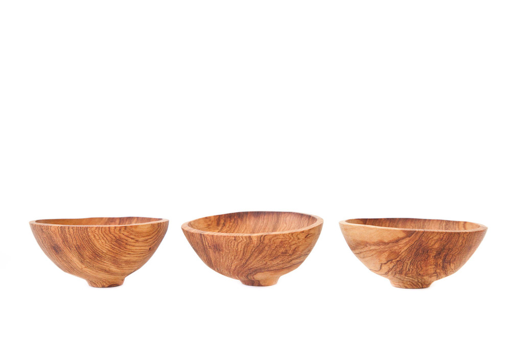 (TA-012) SMALL KENYAN WOOD BOWLS