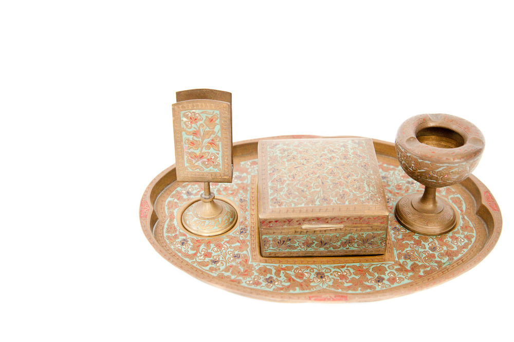 (TA-018) TURKISH SMOKING SET