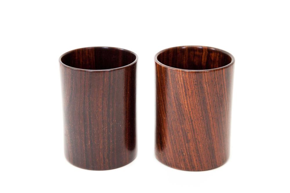 (TA-057) ROSEWOOD CUPS