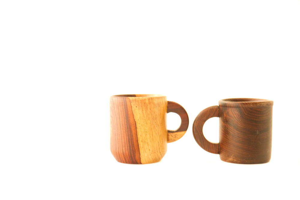 (TA-059) WOODEN MUG COLLECTION