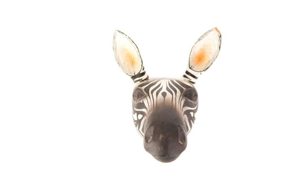 (PS-152) ZEBRA HEAD ART