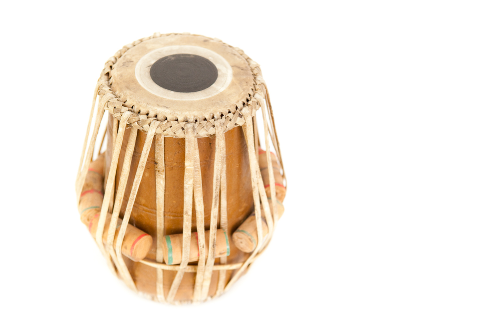 (PS-172) ANTIQUE INDIAN TABLA DRUM