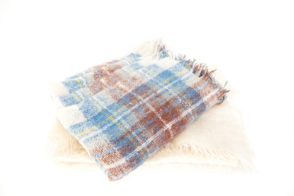 (L-030) MOHAIR BLANKET COLLECTION