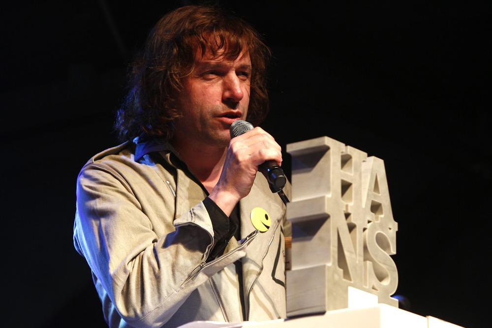 HANS 2012 / Preisträger in der Kategorie Hamburger Gestaltung des Jahres - Rocko Schamoni (© public address)