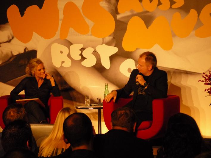 Moderatorin Ina Müller und Herbert Grönemeyer (© public adress)