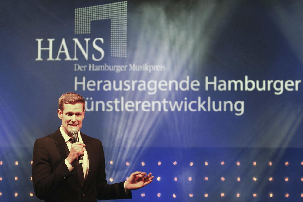 HANS 2013 / Moderator Götz Bühler (© public address)