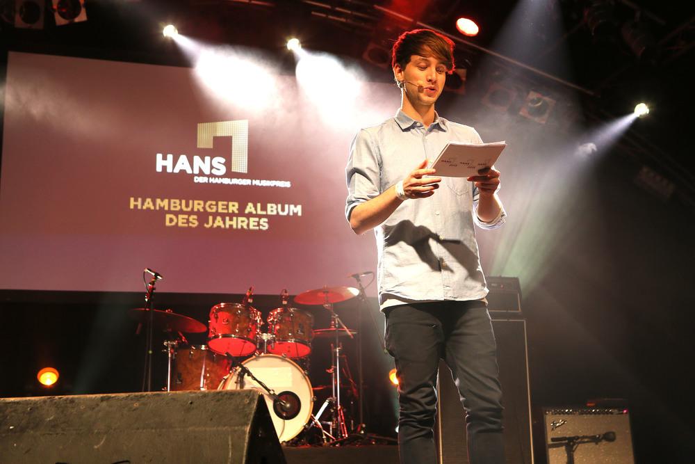 HANS 2015 / Moderator Lukas Nimschek (© public address)