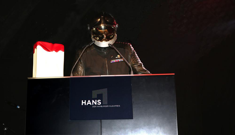 HANS 2015 / Laudator Dr. Rocketson (© public address)